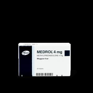 Медрол, Medrol, 4 мг