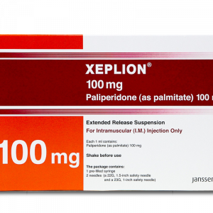 Ксеплион, Xeplion, Палиперидон, 100 мг