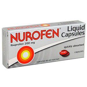 Нурофен гель, Nurofen, Ибупрофен, 16 капсул