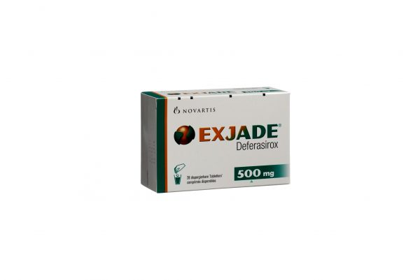Эксиджад, Exjade, деферазирокс, 500 мг