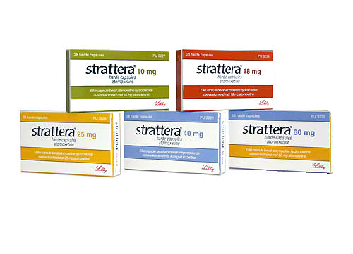 Страттера, strattera, атомоксетин