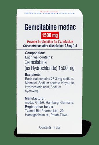 Гемцитабин Гидрохлорид, Gemcitabine Hcl, 1000 мг