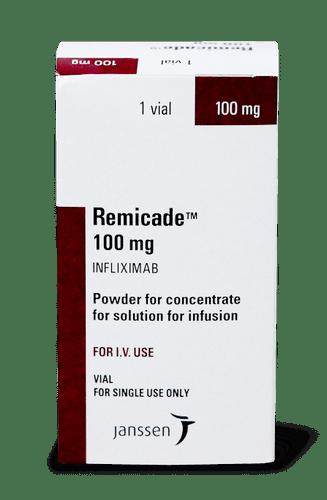Ремикейд, Remicade, инфликсимаб, 100 мг