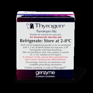 Тироген, Thyrogen, Тиреотропин-альфа